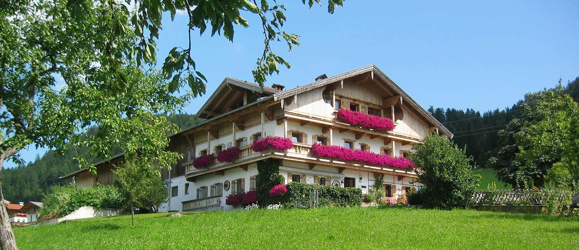 Feinkost-Zimmererhof in Brandenberg